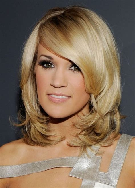 medium layered hairstyles  women feed inspiration