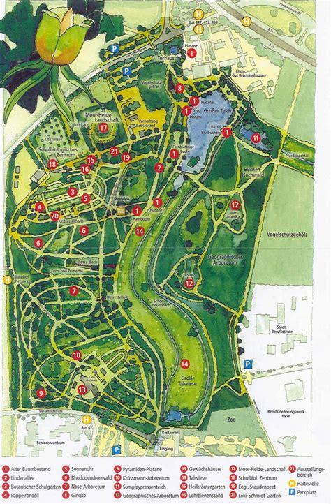 englischer garten münchen lageplan freunde und f 246 rderer des botanischen gartens rombergpark e