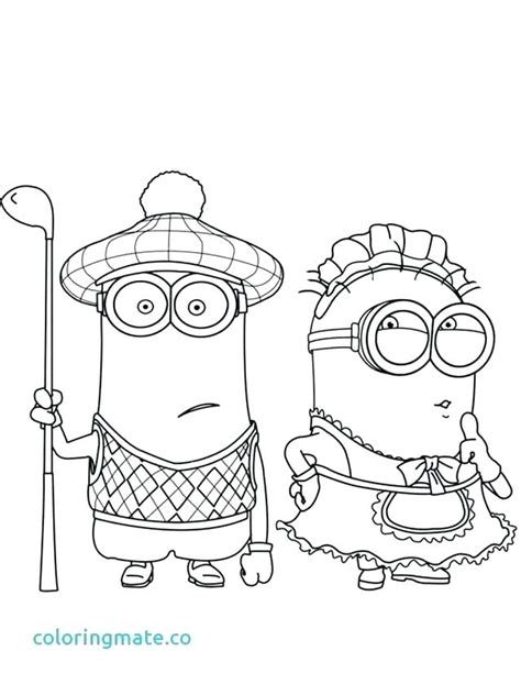 Dress Minion Coloring Pages Paul Search Results 40fashiontrend