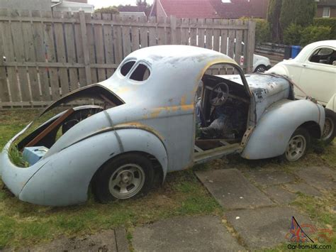 Project For Sale by Willys Coupe Rod Project V8 Shell Chassis Tax Exempt V5