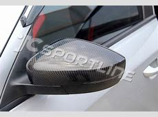 Passenger NS Car Door Wing Mirror Cover VW Polo 6R