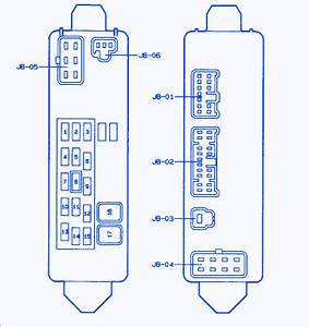 1997 Mazda B2300 Fuse Box Layout