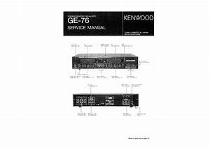 Kenwood Ge-76