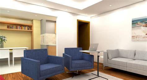 sala sofa cinza e poltrona azul sof 225 cinza sala