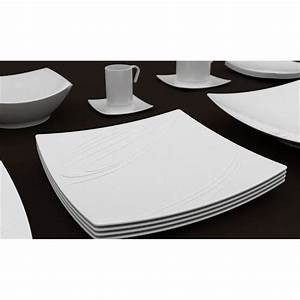 Service Assiette Design : assiette plate 39 kensai 39 26cm x6 achat vente service complet cdiscount ~ Teatrodelosmanantiales.com Idées de Décoration