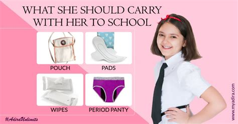 Worried Your Daughter Will Get Her First Period At School