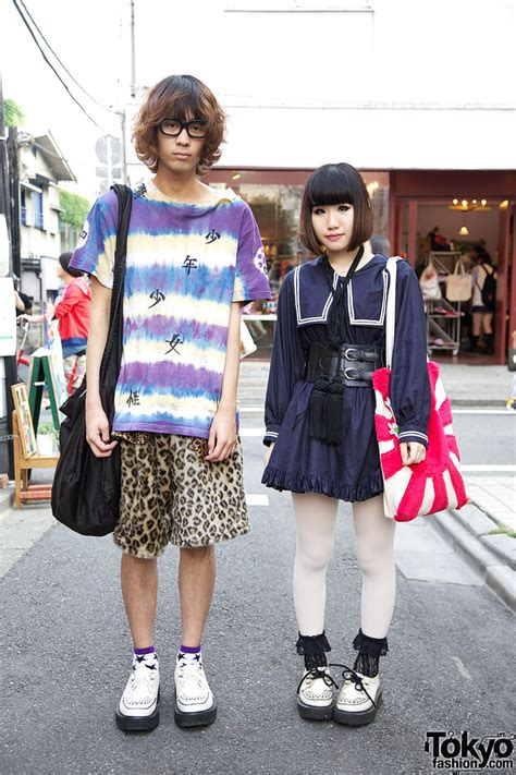japanese school uniform inspired harajuku street fashion
