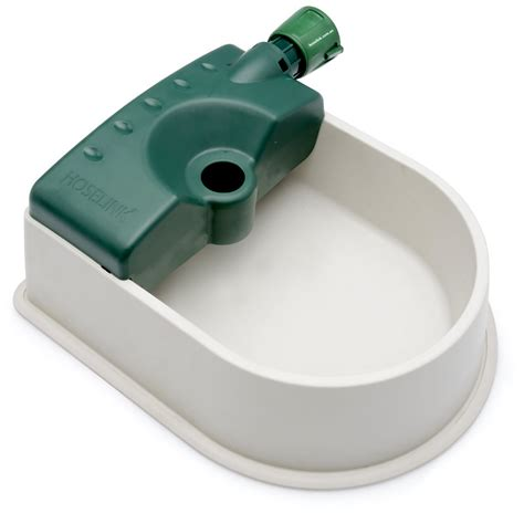 auto fill water bowl auto fill pet water bowl hoselink 7521