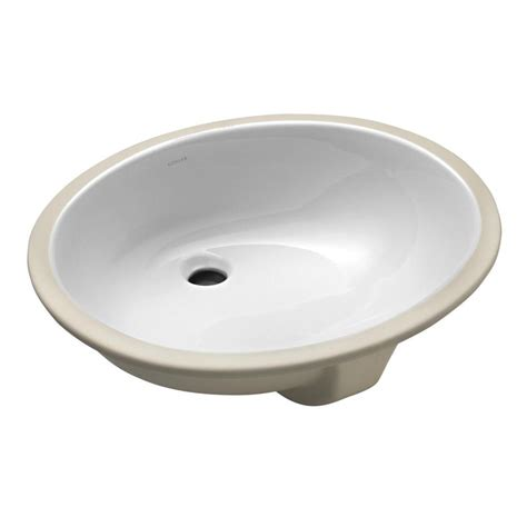 Kohler Caxton Sink Home Depot by Kohler Caxton Vitreous China Undermount Vitreous China