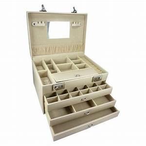 Boite A Bijoux Grande : grande boite bijoux tiroirs achat vente boite a ~ Teatrodelosmanantiales.com Idées de Décoration