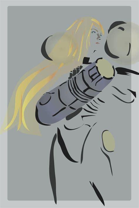 Metroid Samus Aran Minimalist Poster Samus Aran Metroid