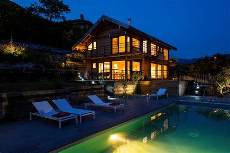 maison bois contemporaine aix les bains