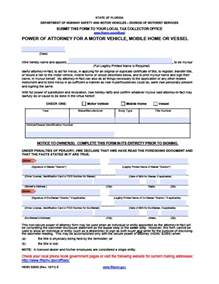 Power of Attorney Form Florida
