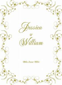 inspirational wedding invitation border designs gold With wedding invitation border designs gold