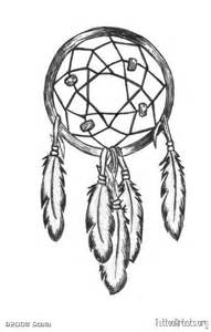 Dream Catcher Tattoos Drawings