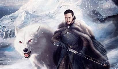 Jon Snow Thrones 4k Wallpapers Ghost Ultra