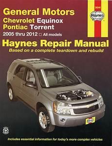 Chevy Equinox  Pontiac Torrent Repair Manual 2005