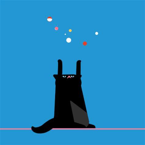 amazing animated cat illustrated gif art   animations