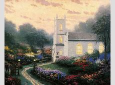 Blossom Hill Church The Thomas Kinkade Company
