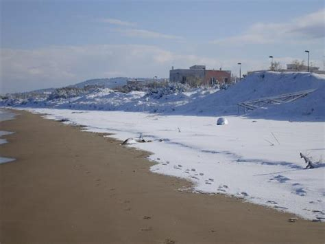 le terrazze sul mare foce varano neve a foce varano picture of foce varano province of