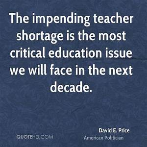 The impending teacher shortage is the most critica by ...