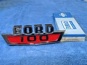 1966 Ford F100 Hood Emblem