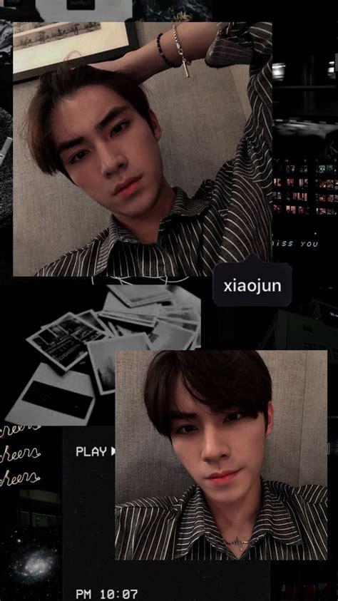 xiaojun wayv aesthetic wallpaper orang pacar pria xiao