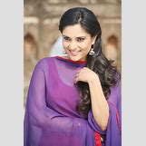 Divya Spandana In Red Saree | 550 x 825 jpeg 66kB