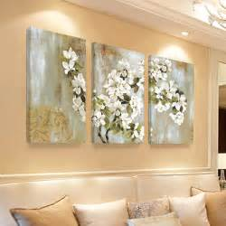 home interiors wall home decor wall painting flower canvas painting cuadros dencoracion wall pictures for livig room