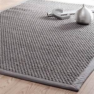 Teppich 230 X 230 : tapis tress en sisal gris 160 x 230 cm bastide maisons du monde ~ Indierocktalk.com Haus und Dekorationen