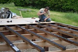 terrasse bois sur pilotis m aub39s construction With construction terrasse bois sur pilotis
