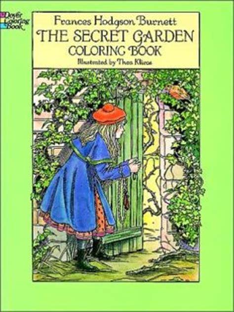 secret garden coloring book  frances hodgson burnett  coloring book
