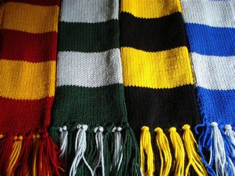 harry potter house colors harry potter house scarf colors use infinity scarf