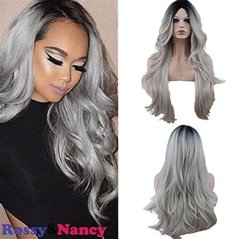 Rossyandnancy Two Tones Cheap Synthetic Long Wave Heat Resi