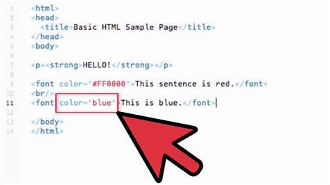 how to change the color of text in html how to change text color in html with exles wikihow