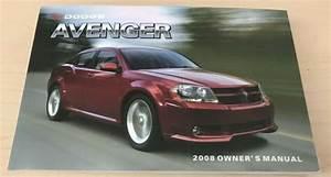 2008 Dodge Avenger Owner U0026 39 S Manual