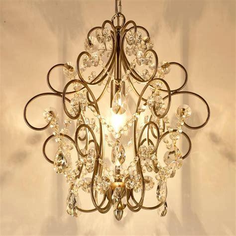 kitchen crystal lighting mini led chandelier bronzed