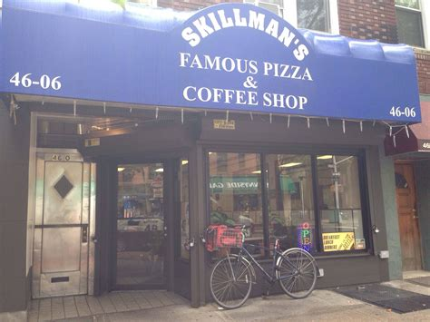 This coffee guide is by no means exhaustive, since new coffee shops seem to be popping up like mushrooms after rain. Skillman's Famous Pizza & Coffee Shop Sunnyside Queens New York City
