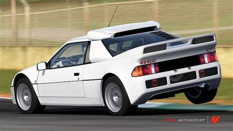 IGCD.net: Ford RS200 in Forza Motorsport 4