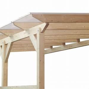 toiture de terrasse epicea lamelle colle classic 348x272cm With toit terrasse en bois