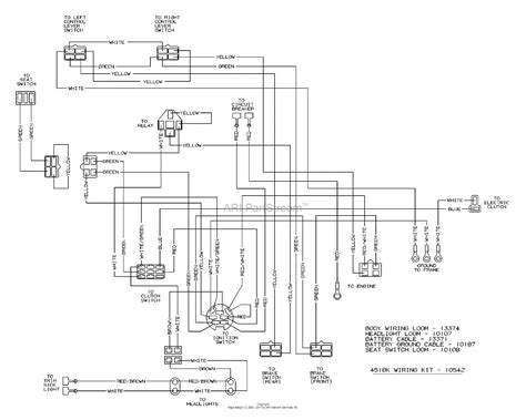 dixon 4518k 2004 parts diagram for wiring