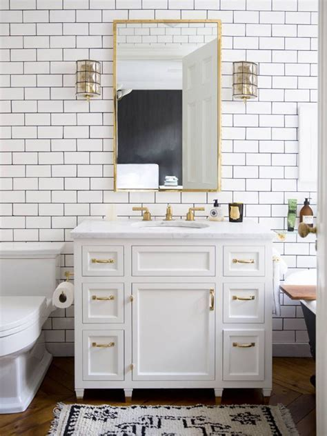 30 pictures of subway tile patterns for bathroom