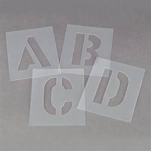 3quot stencil kit a z linemarkerpaintcouk With 3 inch letter stencil kit