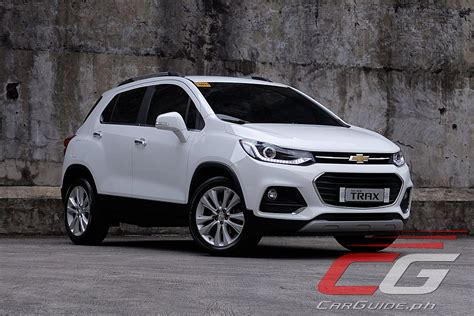 Review 2018 Chevrolet Trax 14 Lt  Philippine Car News