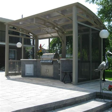abri cuisine somac outdoor kitchen shelters