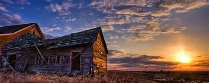Duel Sunset Houses Barn Wallpapers Architecture Updated