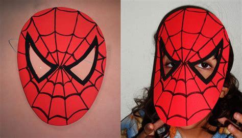 Máscara do Homem Aranha Atelier Borrachinha Mágica Elo7
