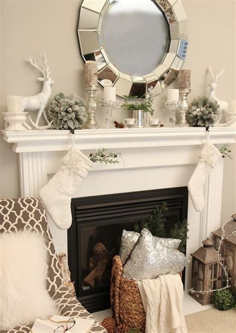 neutral  organic winter decor ideas digsdigs