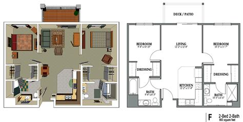 square foot apartment google search floor plans