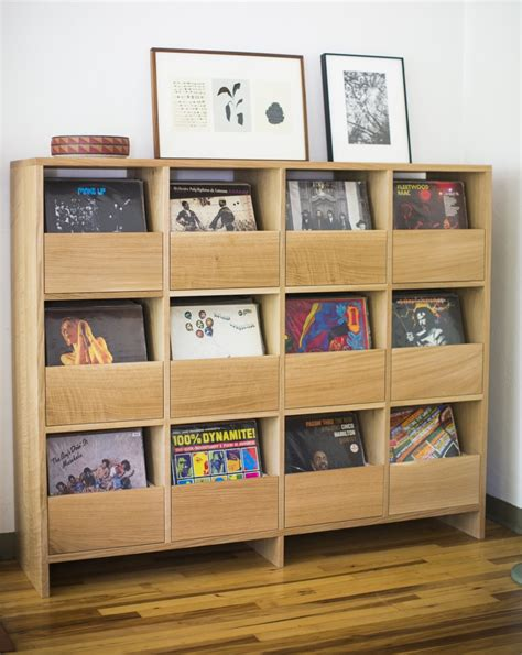 vinyl record cabinet simple and ways to your vinyl record collection